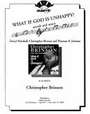 What If God Is Unhappy?