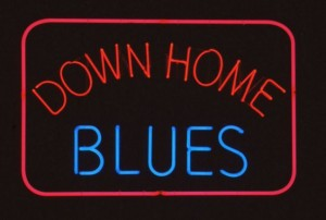 down home blues sign