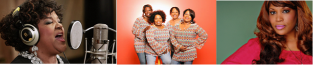 Shirley Caeser, McCrary Sisters, Nickie Conley